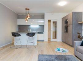 Pronájem bytu 1+kk/B, 40m2, Praha 10-  Vršovice, nový, zařízený