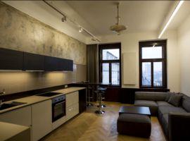 Pronájem bytu 2+kk, 66m2, Praha 2 - Vinohrady, zařízený