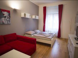 Pronájem bytu 2+kk, 55m2, Praha 3 -  Žižkov, po rekonstrukci, zařízený