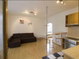 Pronájem bytu 2+kk/B, 40m2, Praha 4, nový, zařízený, garážové stání