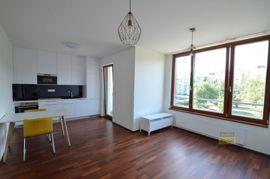 Pronájem bytu 1+kk/L, 40m2, Praha 6 - Břevnov, nový, zařízený, garážové stání