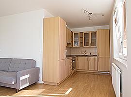Pronájem bytu 2+kk/L, 58m2, Praha 4 - Háje, nový, zařízený