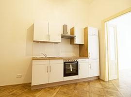 Pronájem bytu 2+1, 57m2, Praha 1, po rekonstrukci, zařízený